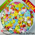 150PCS mixed plastic heart shape cartoons sewing clothing buttons clothes accessory P-023