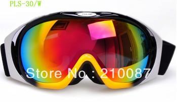 POLISI double-layer anti-fog wind snow polarized ski goggles original mirror box card myopia