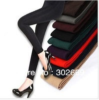 New Arrival Large size women's Leggings velvet warm elastic  tight pants 6pairs/lot  free shipping
