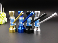New Arrival!Free shipping 5pcs/lot HXZ587 Fashion Metal Pipe water Smoking Pipe Gift Promotion hotsale