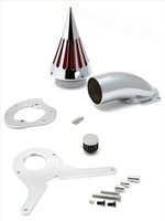 Chrome Spike Air Cleaner Intake Filter Fit For Honda Shadow Aero 750 Spike A01