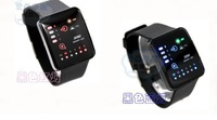 new concept Led boys watch  fashion digital men's watch rubber strap
