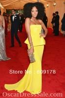 Платье знаменитостей Celebrity Dresses Oscar Star Angelina Jolie Green Cap Sleeve Straight Crystal Floral Pin Rayon Chiffon