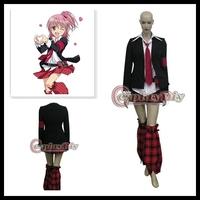 Shugo Chara! Amu Hinamori Cosplay Anime Costume