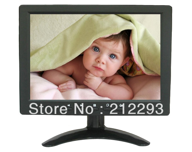 "8.4"" cctv monitor with BNC/ AV/PC in ,LED High brightness monitor+ fedex free shipping(China (Mainland))"