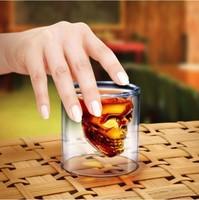 Shot Glass Crystal Skull Shotglass cup
