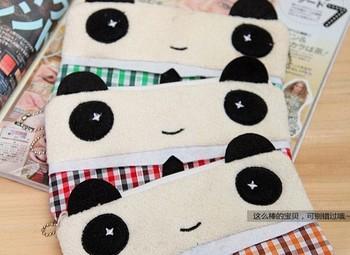 5PCS Kawaii Panda Plush Pen Pencil BAG Pouch Case ; Pendant Coin Purse & Wallet Case Holder ; Cosmetics Makeup Pouch Case BAG