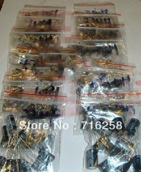 1UF-470UF 12 Value electrolytic capacitor kit 10pcs/each  all 120pcs