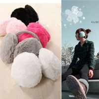 Multi-color Earmuffs,Behind Wear Plush Warm Earmuffs-Free Shipping
