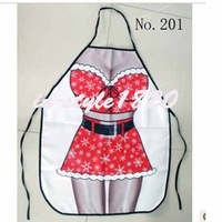 CHRISTMAS COOKING APRON SEXY SANTA CHRISTMAS JOKE DINNER PARTY ADULTS UNISEX