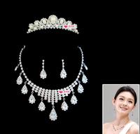 The bride accessories the bride necklace wedding dress formal dress accessories set