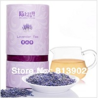 60g free shipping Dried Lavender tea Flower Tea herbal tea dry flower good to sleep
