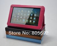 50PCS/Lot For Huawei MediaPad 7Lite Case,7'' Stand Leather Case Tablet PU Cover DHL EMS Free