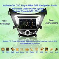 Free Shipping! 2011, 2012 Hyundai I35 GPS Navigation DVD Player ,TV,Multimedia Video Player system+Free GPS map+Free camera
