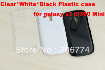 New Snap-On Ultra Thin Hard Crystal Clear Transparent colors plastic Back Cover Case for Samsung Galaxy S3 i9300 mini