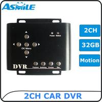 mini car dvr 2ch car dvr with car charger from asmile