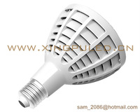 NEW! 10pcs/lot fins cooling par30 30W LED spot light, 2100~2600LM led lamp. Top configuration!