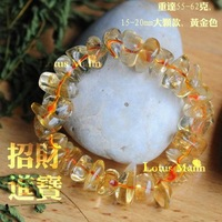Lotus mann Yellow Crystal Mixed Wrap Bracelets