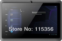 free shipping 7inch Allwinner box chip A13 1.5GHZ 512MB 4GB Capacitive Screen WIFI 3G andriod 4.0 tablet pc