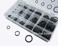 Free shipping Convenient 225pc Black O-Ring Assortment