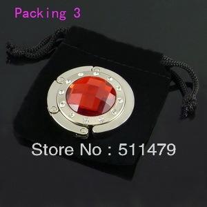 FREE SHIPPING+Popular Bag Hanger/Charm HandBag Hanger/Velvet Bag Hanger+100pcs/Lot+Can be customized different logo