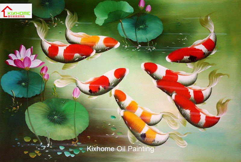 Simple Koi Art Koi Fish Art Painting on