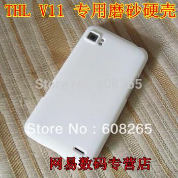 2pcs/lot Thl v11 mobile phone hard case v11 protective case scrub hard shell color covers shell free shipping