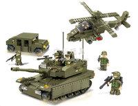 Building Block Set SlubanB309 Army-amphibious assault Model Enlighten Construction Brick Toy Educational Toy for Children