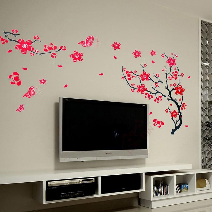 Room Wall Drawings Wintersweet Drawing Room