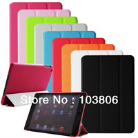 1pcs NEW Crystal Clear Hard PC Back Case Cover Slim Shell for Apple iPad Mini + 10 pcs Clear Screen Protector