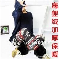 2815 Large size women's Leggings imitation cashmere thicken warm elastic  tight pants 5pcs/lot  free shipping