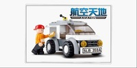 Building Block Set SlubanB0359 3DPuzzle Model Enlighten Construction Brick Toy Educational Toy for Children Free Shipping