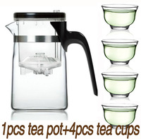 FreeShipping Design in Tokyo samaDOYO Tea pot E-01 500ml+4cups Tea Cup