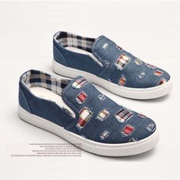 Free Shipping High Quality Corduroy Material Men Flat Sneakers Eu 39-44 Bussiness Model Male Casual Shoes 116181