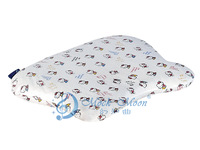 wholesale dunlop 45kgs/m3 SGS therapy healthy care butterfly baby head shaping Natural latex pillow