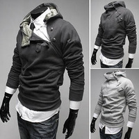 free shipping New coats men's outerwear Mens Special Hoodie Jacket Coat fashion casual men clothes 5 colors size M~3XL
