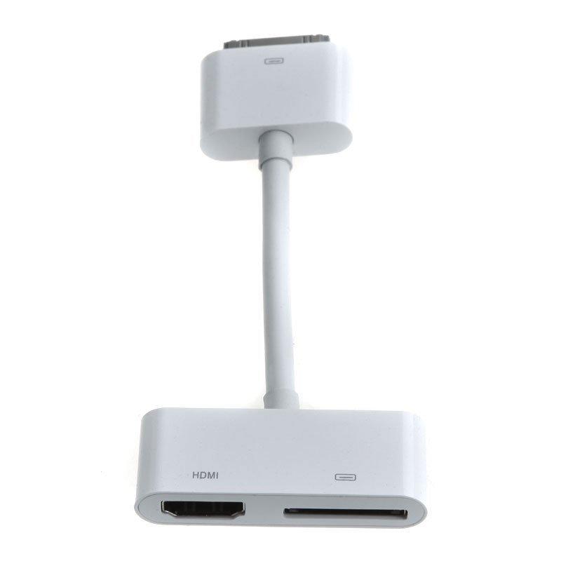 Freeshipping Digital AV Adapter HDMI Cable For iPad 2 iPhone iPod Touch 4(Hong Kong)