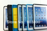 Wholesale Two-color Bracket robots protective sleeve for Ipad Mini Ultra-thin protective shell 10pcs/lot free shipping by DHL