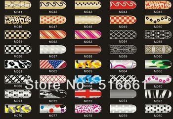 CPA 50 sets (M16 pcs/set)Nail polish Manicure Nail Metallic Decoration Applique sticker 360 selected