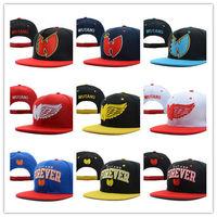 Hot Sale WuTang Snap back High Quality Baseball Cap Fashion Men's Hip Hop Hat Wholesale YMCMB Trukfit Pink Dolphin NEFF DFK Cap