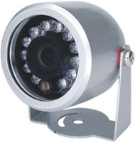 Day and night waterproof infrared surveillance cameras / 12led Security Camera with audio