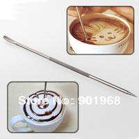 12pcs/lot NUVO coffee latte needel-latte art  tool-coffee tool