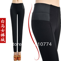 Women's plus size  trousers ,elastic waist legging ,pencil pants