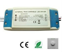 3X2w led driver 6w power supply 3 years warranty  Flicker free, Noise free Rubycon capacitor dimmable led driver