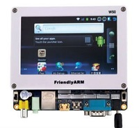 ARM S5PV210 Cortex A8 Development Board , TINY210 SDK+7inch Resistance Touch Screen512MRAM +1G SLC FlashAndroid4.0