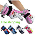 Free Shipping Snow  gloves  children Snowboarding outdoor winter sports child ski gloves waterproof(China (Mainland))