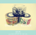 Free shipping hot sale WT washi tape DIY tape  Wide 30MM*10M over 10 colors are available  wide tape