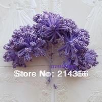 Lavender foam flowers  lavender  color candy box