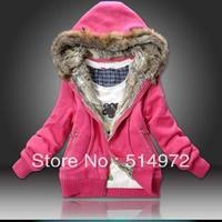 Best Selling !!New arrival Women Warm Hooded  Winter coat Lady Casual Warm Jacket Hoodies+Free Shipping