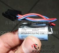 New MITSUBISHI A6BAT MITSUBISHI PLC battery ER17330V 3 .6v with plug lithium battery